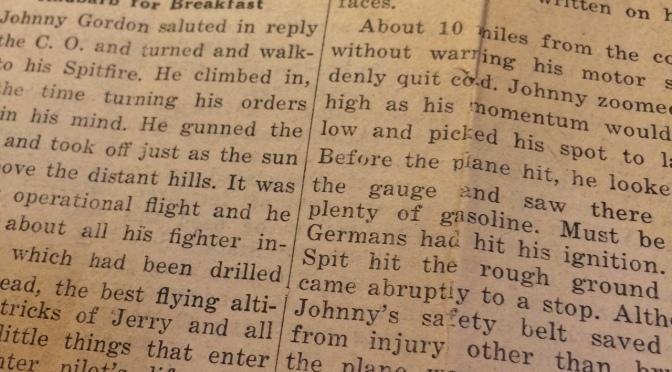 Literary contest winner Stewart K. Cudworth, May 30, 1943