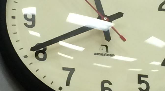 Reunion wisdom: even a stopped clock is right once a day