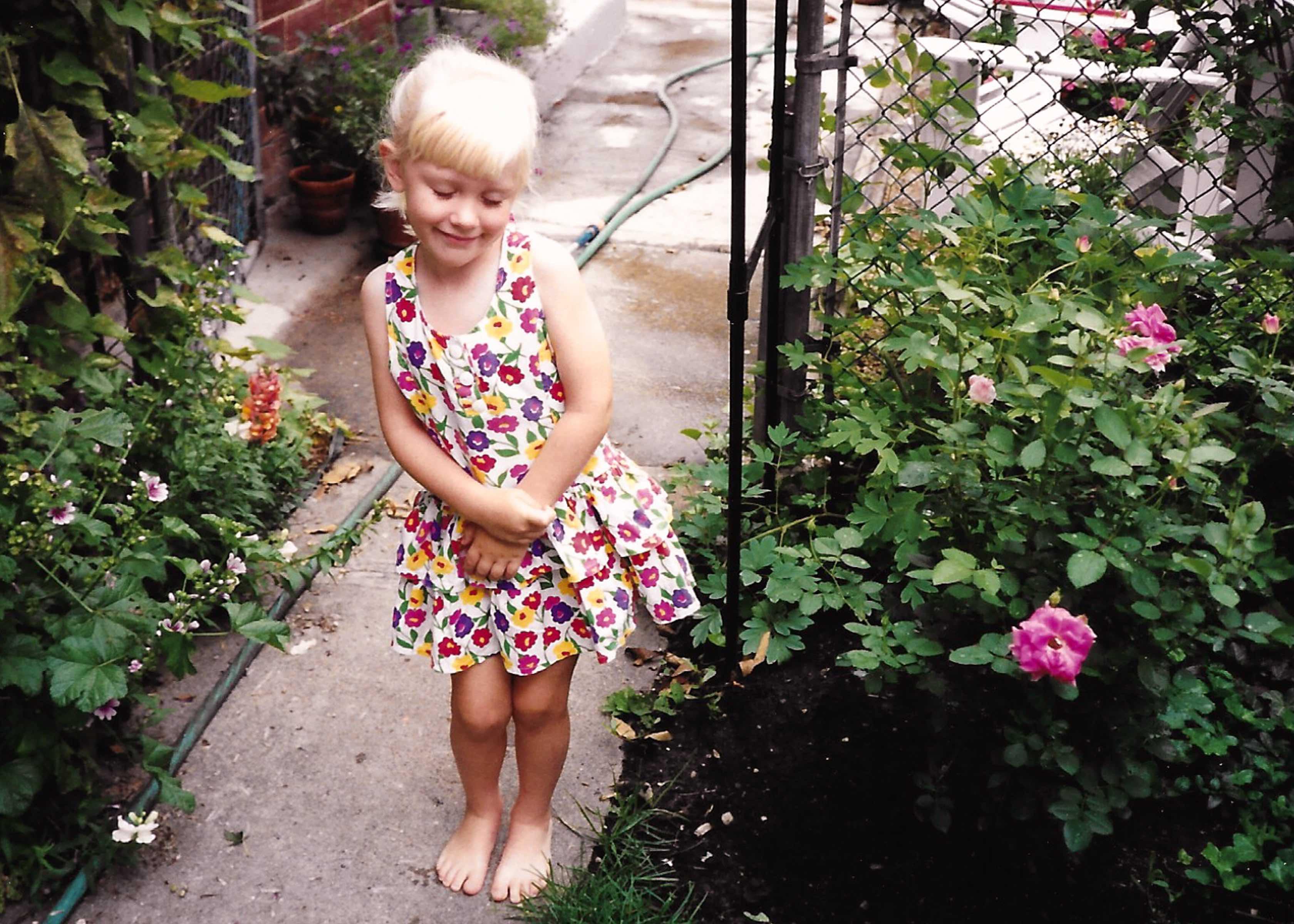 Emmy in Garden