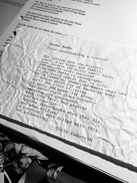 Spicer Husks poem